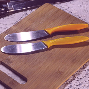 pair of Zyliss spreading knives
